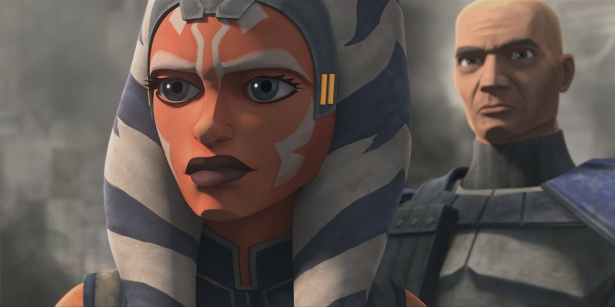star wars the clone wars shattered ahsoka rex disney+