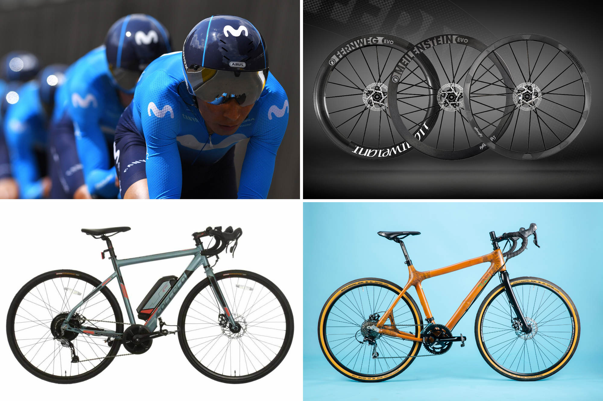 Tech of the week: Endura's split from Movistar, new Lightweight wheels and Bamboo bikes