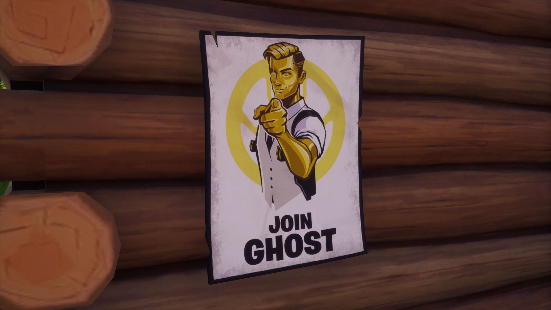 Fortnite Recruitment Poster Locations Where To Deface Ghost Or Shadow Recruitment Posters Gamesradar