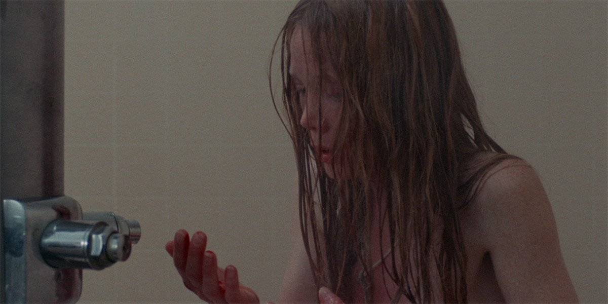 Sissy Spacek as Carrie White in the shower in Carrie