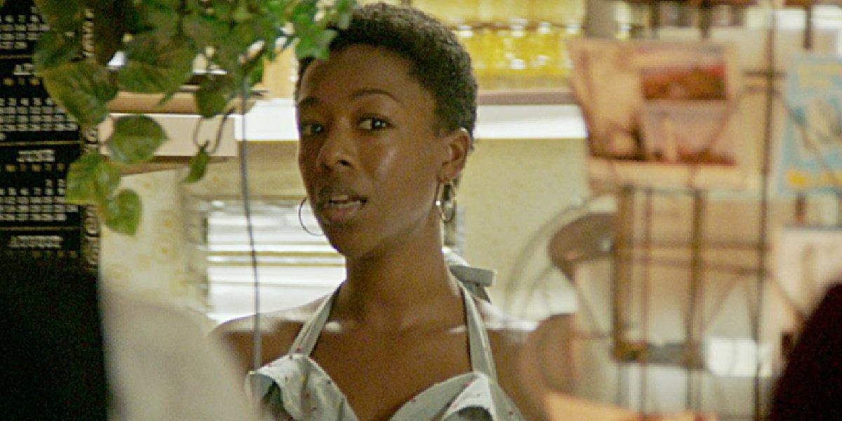 Samira Wiley as Vanessa in the movie Detroit.