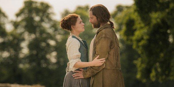 Outlander season 4 brianna roger reunited sophie skelton richard rankin