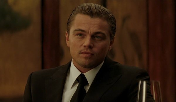 Leonardo DiCaprio Dom Cobb Inception opening scene