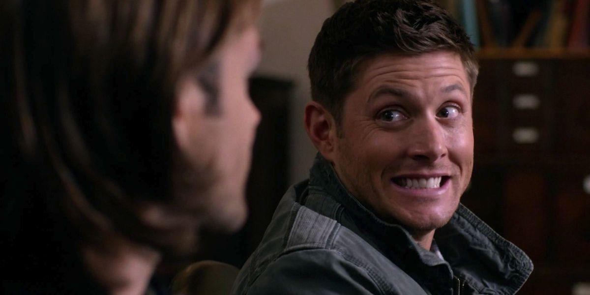 Dean Winchester in Supernatural.