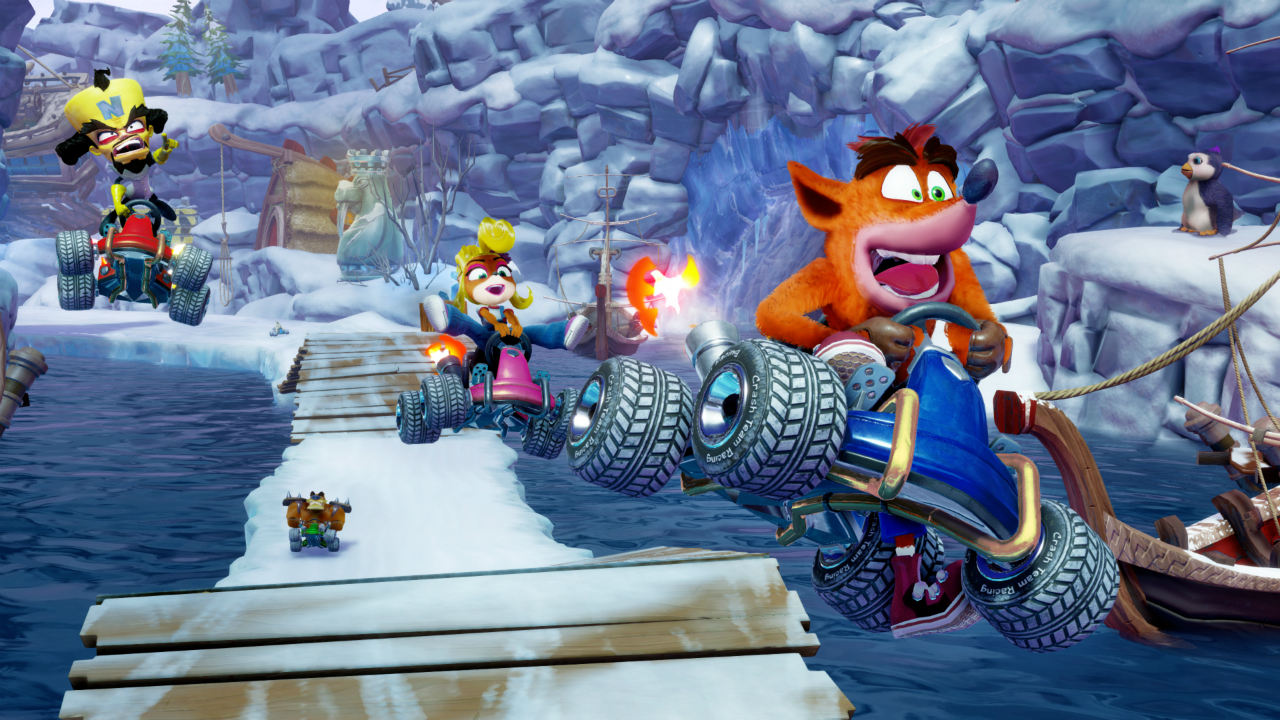 Crash Team Racing Nitro-Fueled PS5 version pops up in weird dashboard glitch