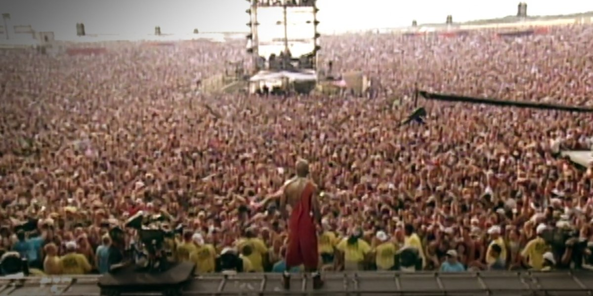 DMX in Woodstock '99: Peace, Love And Rage