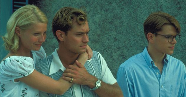 The Talented Mr Ripley  Matt Damon, Gwyneth Paltrow and Jude Law  © Disney/Touchstone