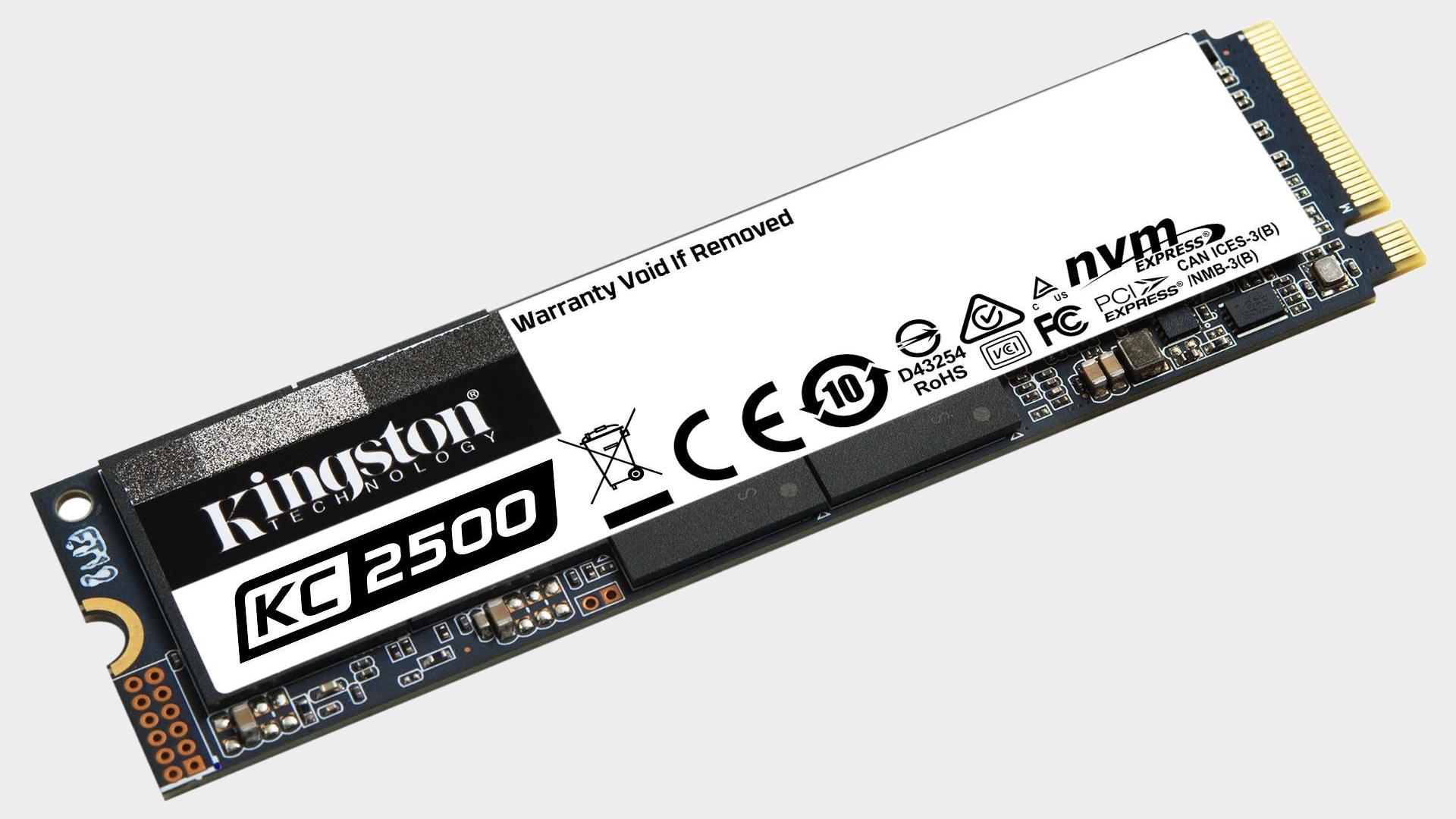 Kingston KC2500 1TB NVMe SSD review thumbnail
