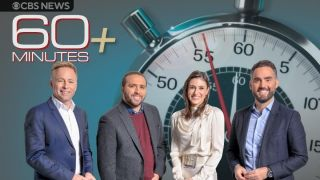 """From left, Seth Doane, Wesley Lowery, Enrique Acevedo, and Laurie Segall on """"60 Minutes Plus"""" on Paramount Plus."""