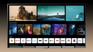 LG's new webOS 6.0 smart TV platform