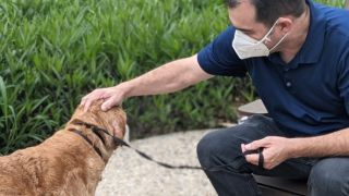 Dog reunited with owner after 10 years