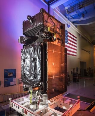 Missile-detecting SBIRS Geo-3 satellite