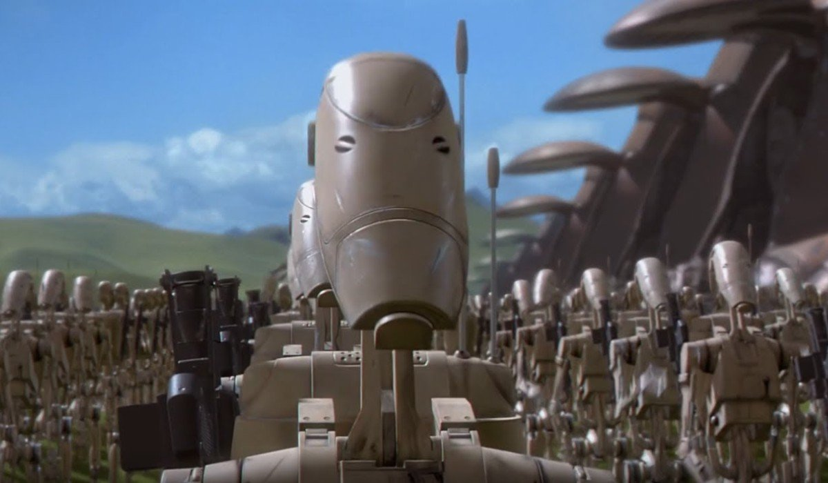 Separatist Droid Star Wars The Phantom Menace