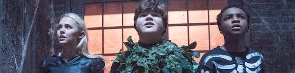 Madison Iseman, Jeremy Ray Taylor, Caleel Harris in Goosebumps 2 Haunted Halloween
