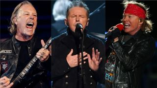 Metallica's James Hetfield, Eagles' Don Henley and Guns N' Roses' Axl Rose