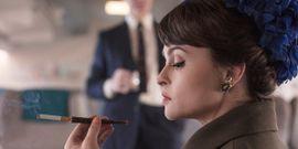 The Crown's Helena Bonham Carter Claims She Spoke With Princess Margaret's Spirit Through Psychic