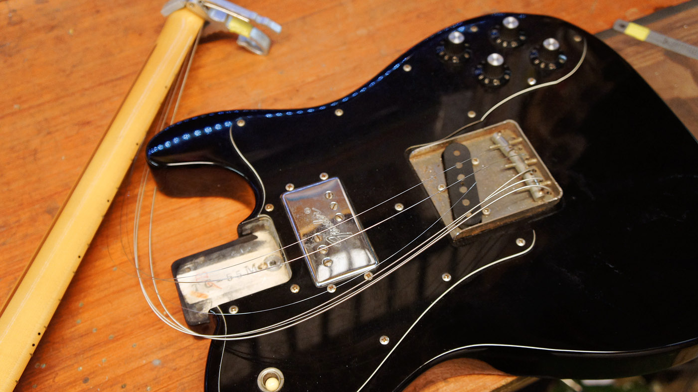 How to fit a guitar neck shim