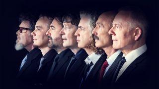 King Crimson headshots modern