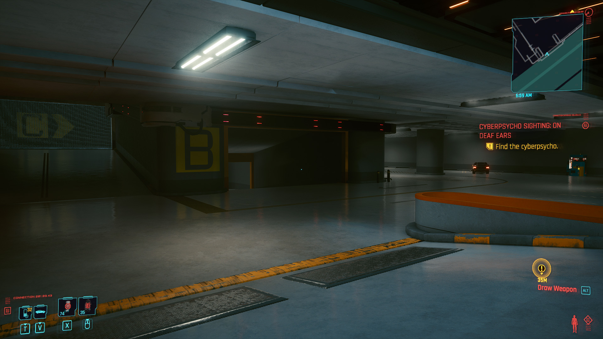 Cyberpunk 2077 Cyberpsycho Sighting locations