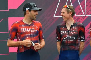 Giro dItalia 2021 104th Edition 8th stage Foggia Guardia Sanframondi 170 km 15052021 Alex Dowsett GBR Israel StartUp Nation Daniel Martin IRL Israel StartUp Nation photo Dario BelingheriBettiniPhoto2021