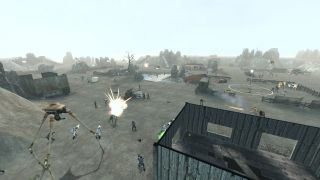 An image from the half-life 2 RTS mod Lambda Wars