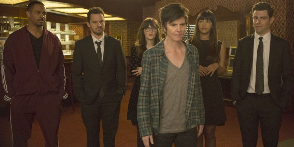 Tig Notaro and the New Girl cast