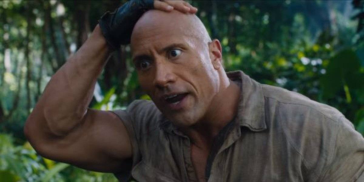 Dwayne Johnson is in for a doozy