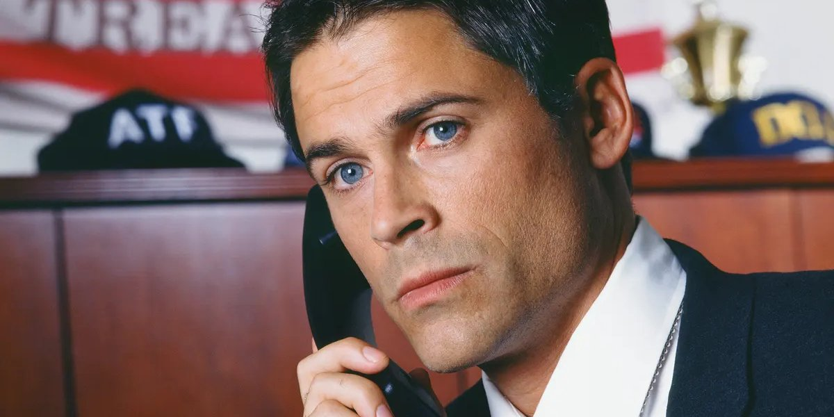 Rob Lowe on The West Wing