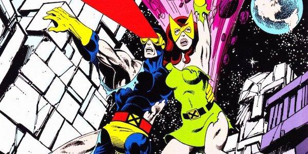Cyclops and Jean Grey comics