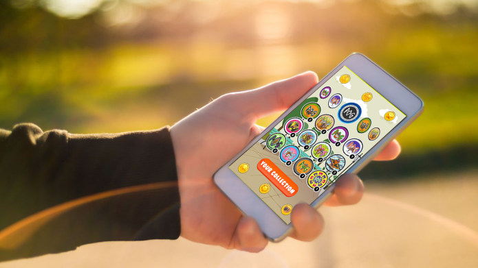 POGs are making a comeback with an AR-enabled mobile game