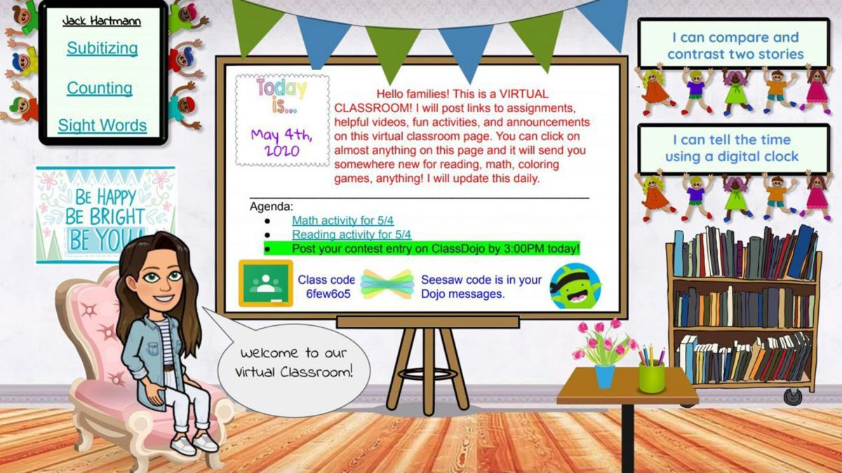 What Is A Bitmoji Classroom And How Can I Build One Tech Learning