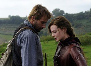Far From the Madding Crowd - Matthias Schoenaerts as Gabriel Oak, Carey Mulligan as Bathsheba Everdene