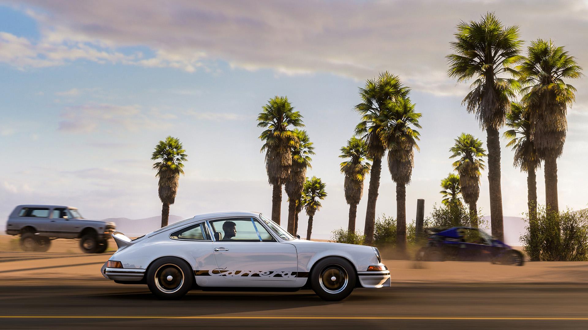 Porsche 911 showcase in Forza Horizon 5