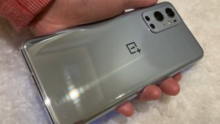 OnePlus 9 Pro full back in gray color