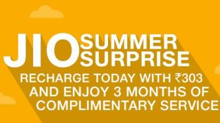 Jio Summer Surprise Offer announced, three more months of