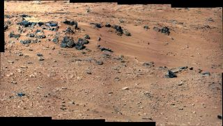 NASA's Mars rover Curiosity snapped this view of Rocknest early in its two-year main mission in 2012-2013.