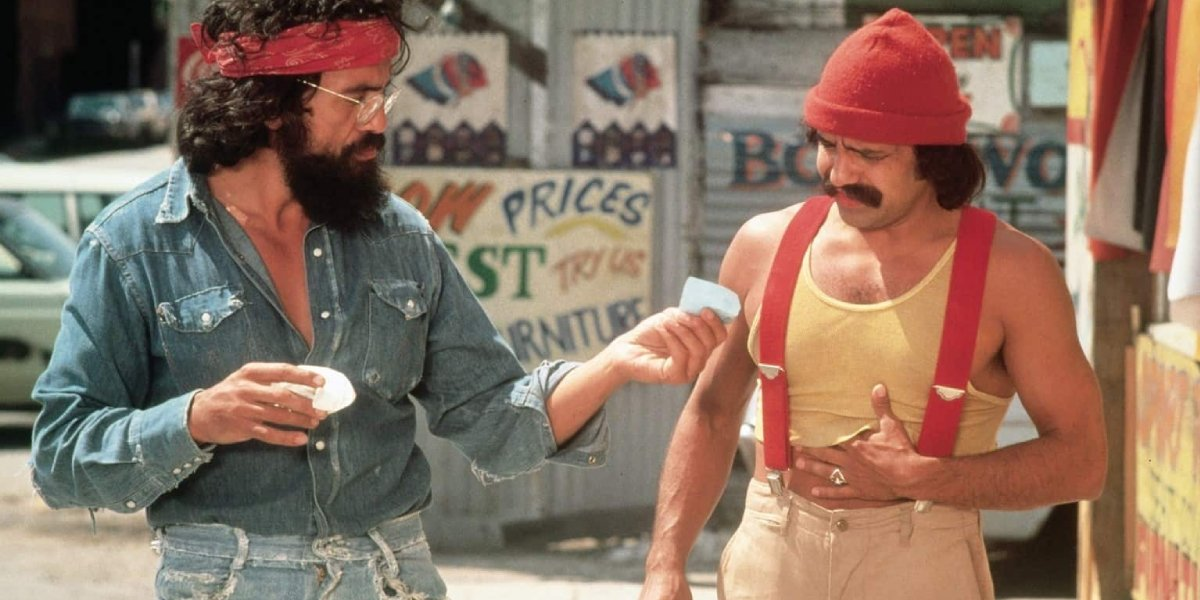 Tommy Chong and Cheech Marin in Up in Smoke