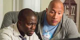 Dwayne Johnson and Kevin Hart in Central Intelligence (2016)