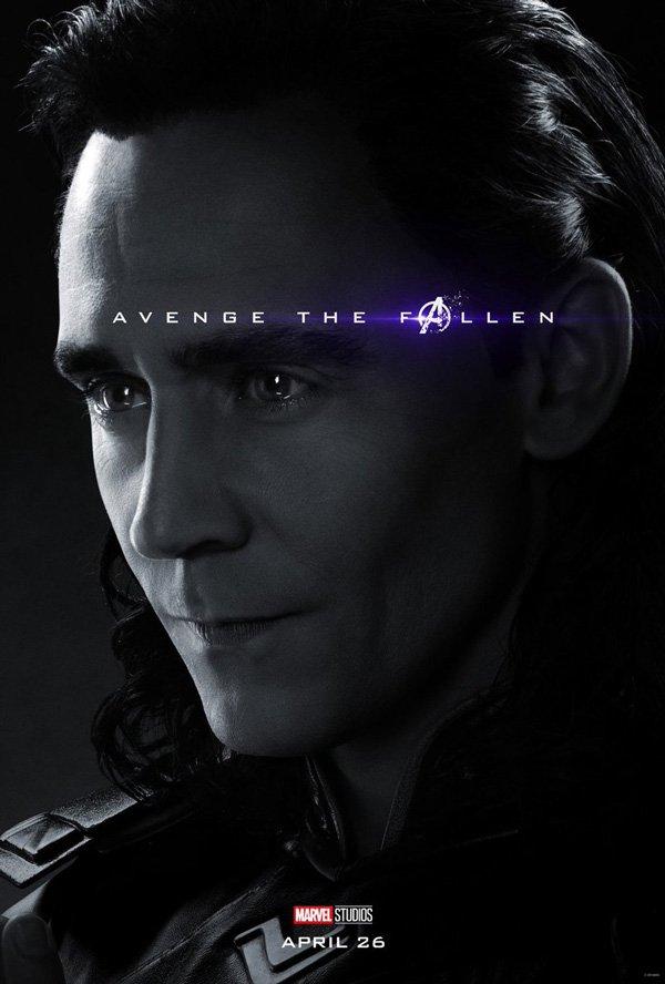 Loki official avengers: endgame poster