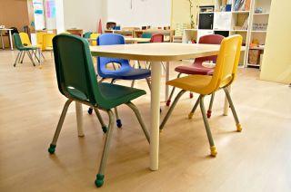 A preschool class room