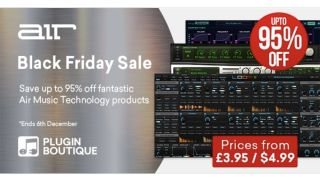 These AIR Music Technology plugin deals could be Black Friday beaters - save up to 95%