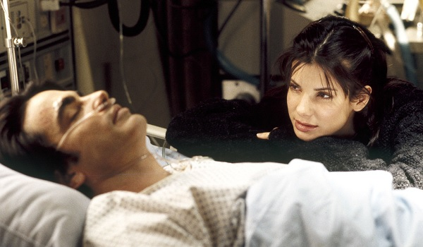 While You Were Sleeping Sandra Bullock Peter Gallagher coma talk