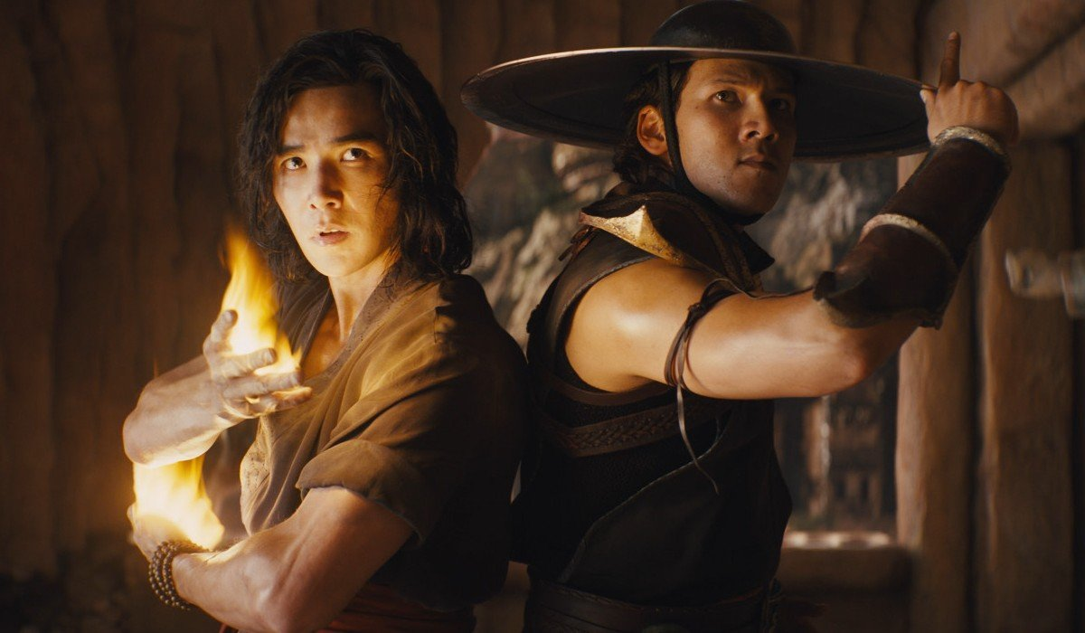 Liu Kang and Kung Lao in Mortal Kombat