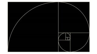 The Golden Ratio spiral