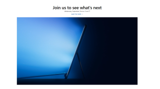 Microsoft September 22 event announcement