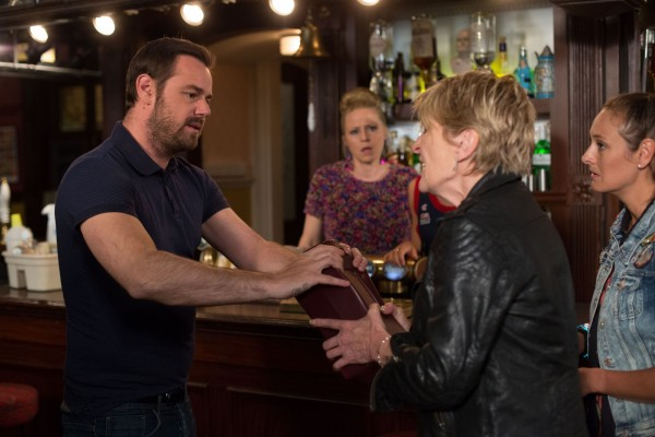 Mick and Shirley Carter row over Stan's ashes in EastEnders