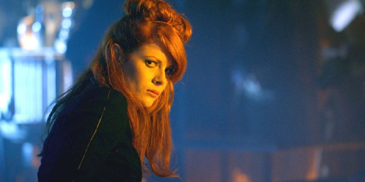 Emily Beecham as The Widow in Into the Badlands.