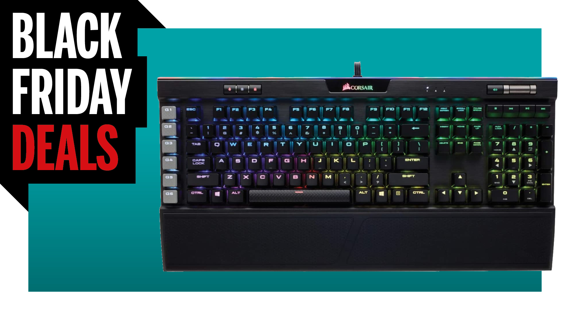 Save $70 on our favourite mechanical keyboard, the Corsair K95 RGB Platinum