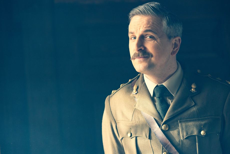 Ghosts star Ben Willbond as The Captain