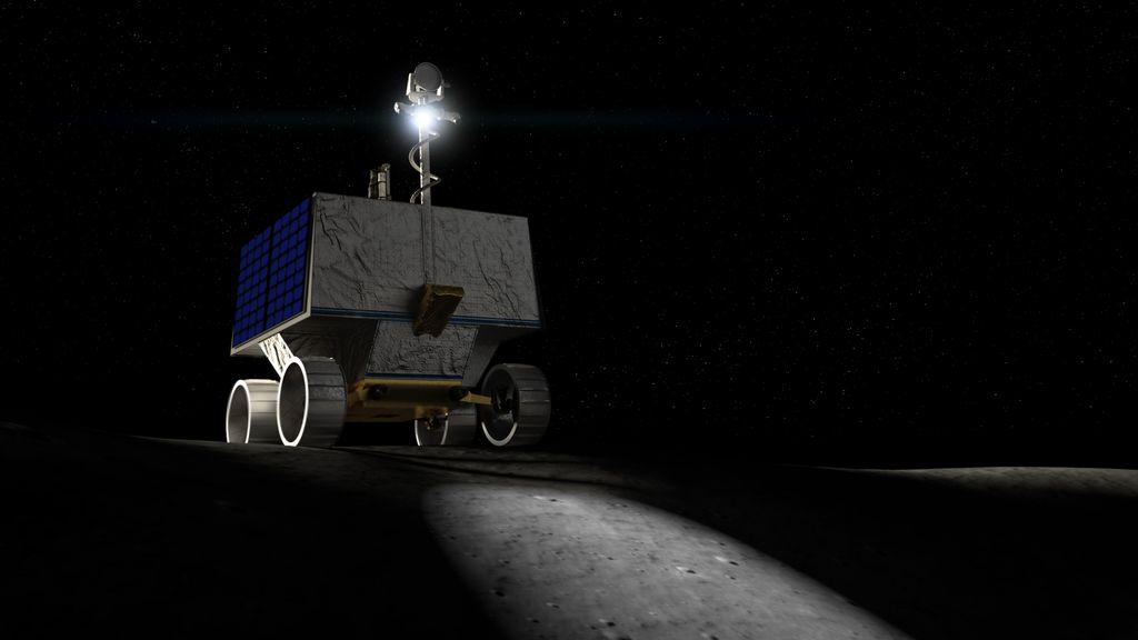 NASA Eyes a New Moon Rover for Astronauts and Robot Lunar Explorers